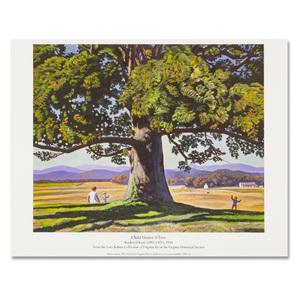Child Under Tree Print